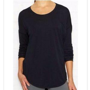 Lucy Final Rep Long Sleeve Black Shirt